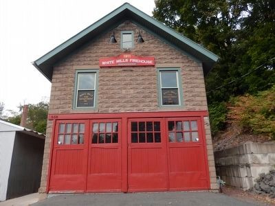 1911 White Mills Firehouse image. Click for full size.