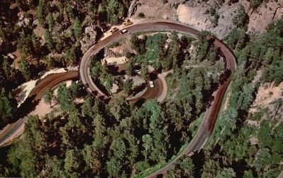 Pigtail Bridge on Iron Mountain Road image. Click for full size.