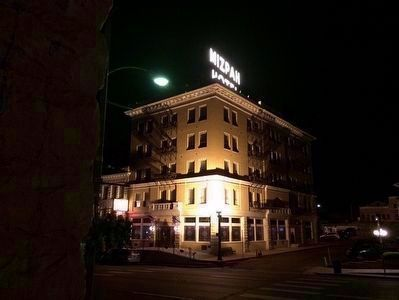 Mizpah Hotel at Night image. Click for full size.