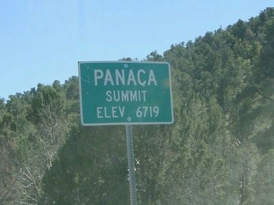 Panaca Summit Road Sign image. Click for full size.