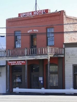 Union Hotel image. Click for full size.