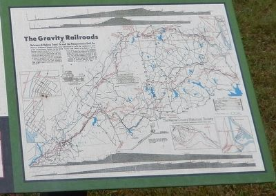 History of Hawley Marker-Map lower right image. Click for full size.