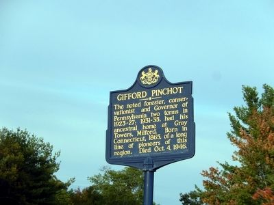 Gifford Pinchot Marker image. Click for full size.