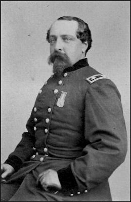 Brig. General Edward Ferrero (1831-1899) image. Click for full size.