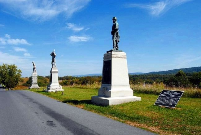 51st Pennsylvania Volunteer Infantry Monument<br>First From the Left image. Click for full size.