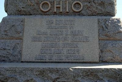 23rd Ohio Infantry Marker image. Click for full size.