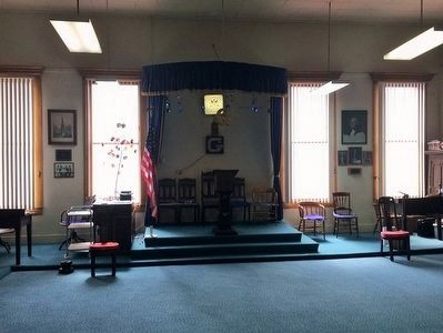 Interior View of the Austin Masonic and Oddfellows Hall image. Click for full size.