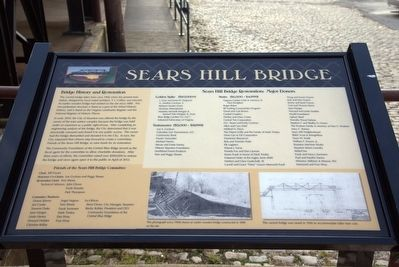 Sears Hill Bridge Marker image. Click for full size.