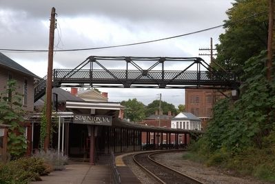 Sears Hill Bridge over Staunton Station image. Click for full size.