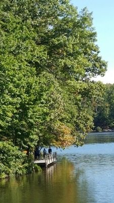 On Lake Anne, Reston, Virginia image. Click for full size.