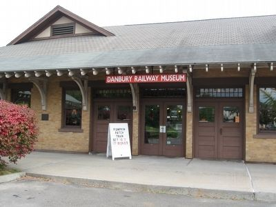 Danbury Railway Museum Entrance image. Click for full size.