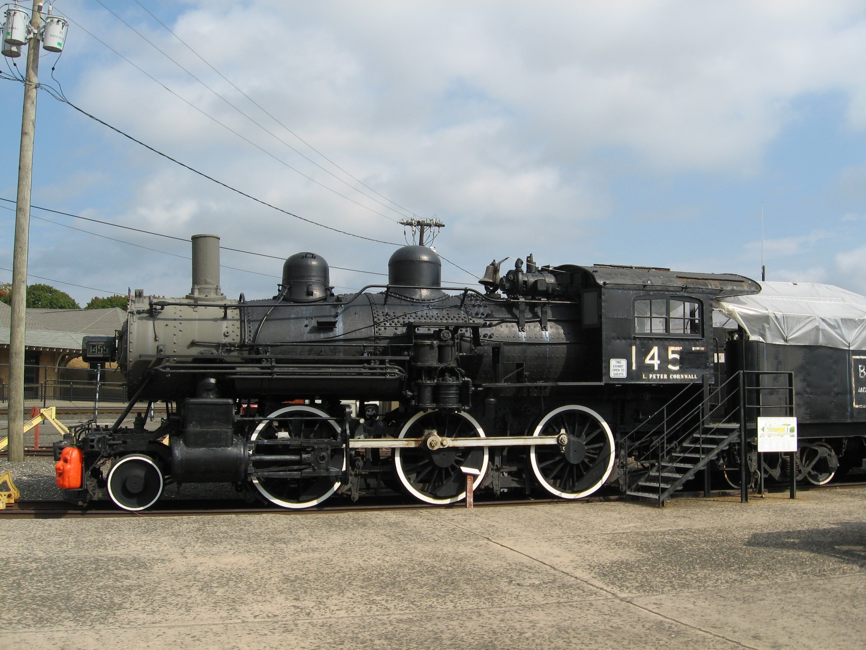 Boston & Maine ALCO 2-6-0 Mogul 1455