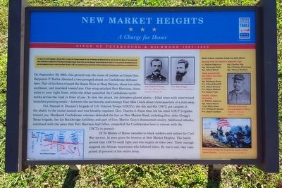 New Market Heights CWT Marker image. Click for full size.