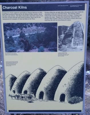 Original Charcoal Kilns Marker image. Click for full size.