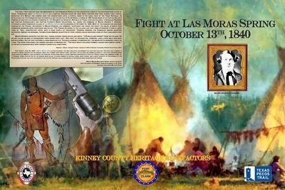 Fight at Las Moras Spring Marker image. Click for full size.