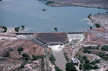 Lahontan Dam image. Click for full size.