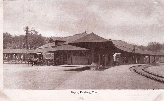 <i>Depot, Danbury, Conn.</i> image. Click for full size.
