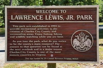Welcome to Lawrence Lewis, Jr. Park image. Click for full size.