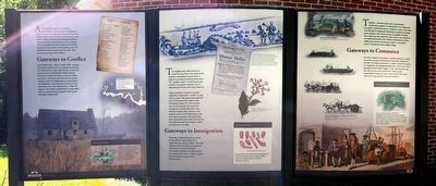 Captain John Smith's Trail on the James Marker #20 image. Click for full size.