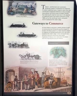Gateways to Commerce (right panel) image. Click for full size.