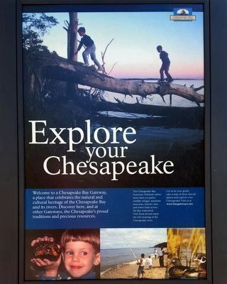 Explore your Chesapeake Marker image. Click for full size.