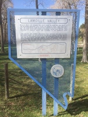 Lamoille Valley Marker image. Click for full size.