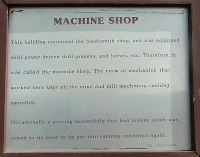 Machine Shop Marker image. Click for full size.