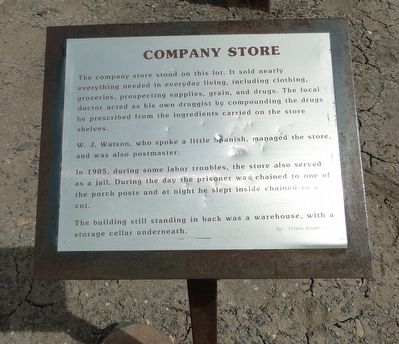 Company Store Marker image. Click for full size.
