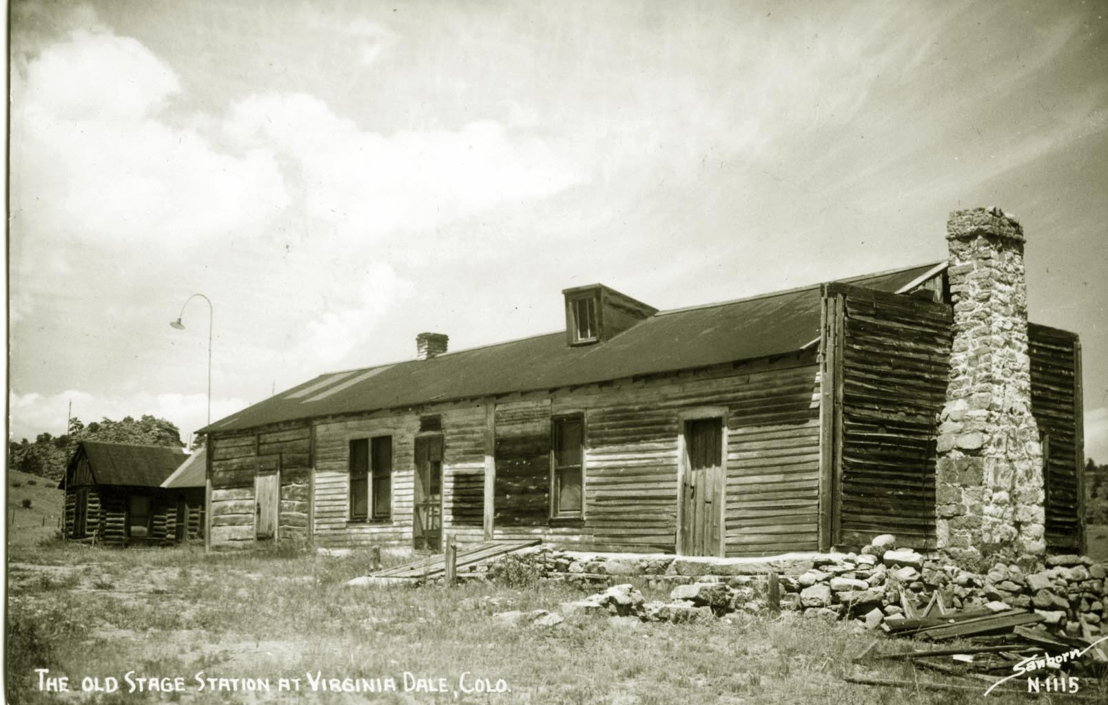 The Old Stage Station at Virginia Dale, Colo.