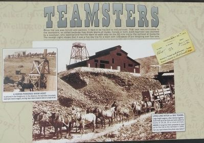 Teamsters Marker image. Click for full size.