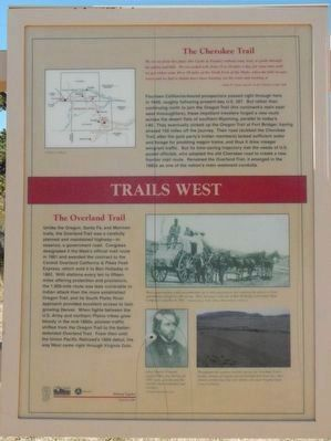 Trails West Marker image. Click for full size.