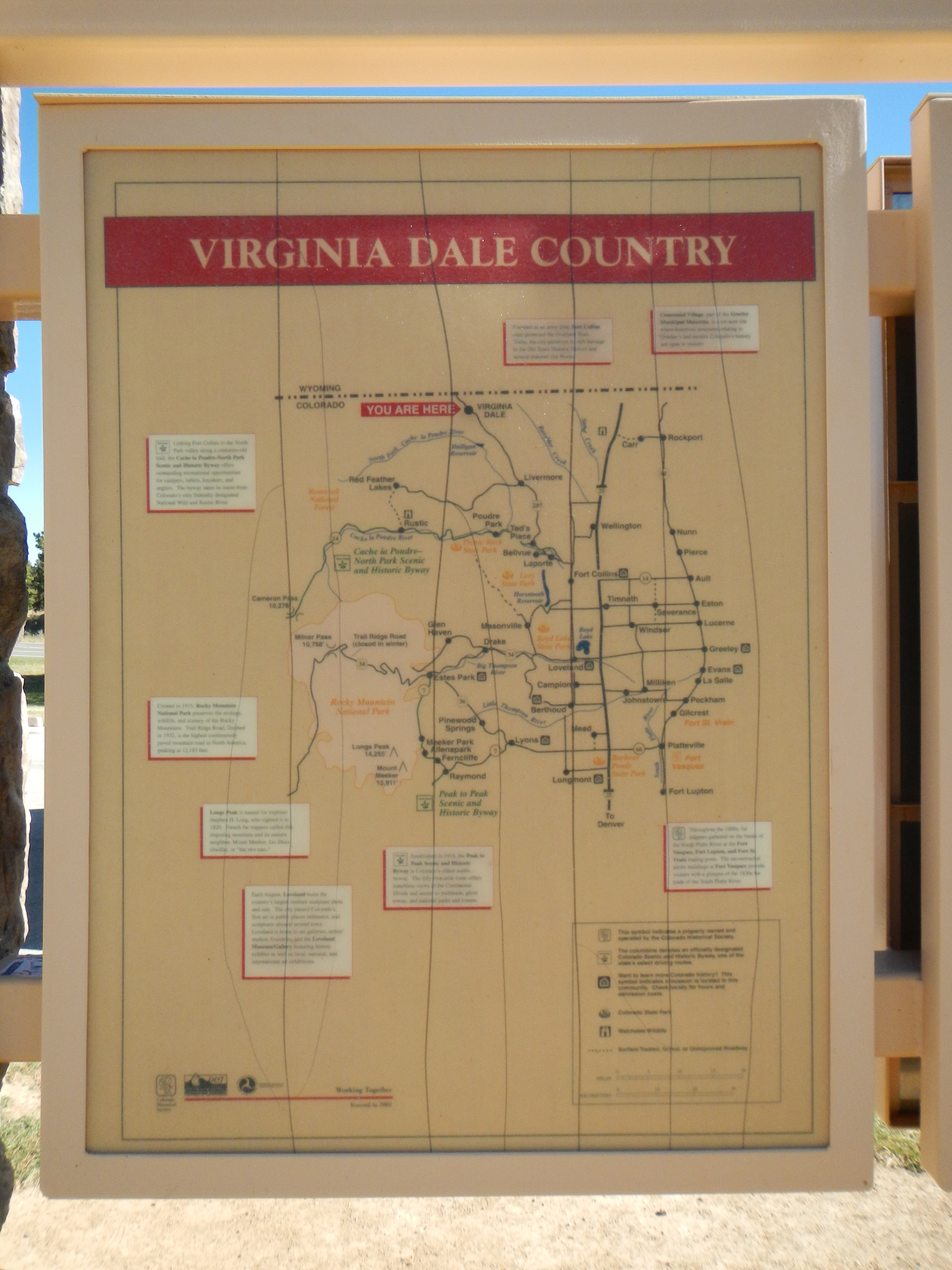 Virginia Dale Country Marker
