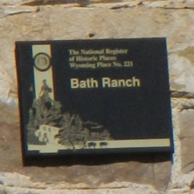 Bath Ranch Marker image. Click for full size.