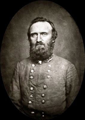 "Major General Thomas Jonathan ""Stonewall"" Jackson (1824-1863) image. Click for full size."
