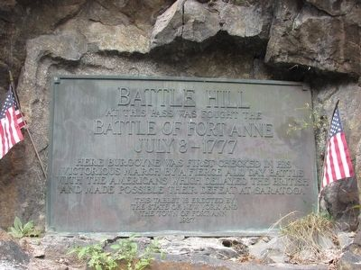 Battle Hill Marker image. Click for full size.