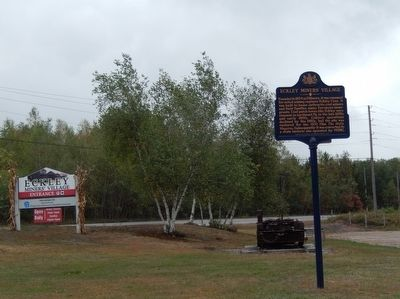 Eckley Miners' Village Marker image. Click for full size.