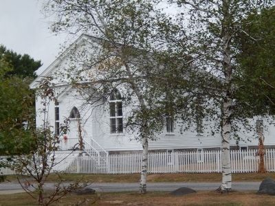 Eckley Miners' Village-Presbyterian Church image. Click for full size.