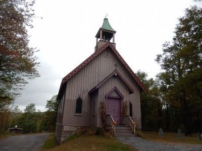 Eckley Miners' Village-St. James Protestant Episcopal Church, 1859 image. Click for full size.