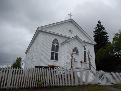 Eckley Miners' Village-Catholic Church image. Click for full size.