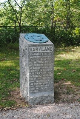 Baltimore Battery Monument image. Click for full size.