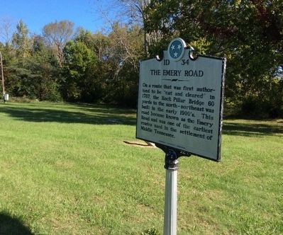 The Emery Road Marker image. Click for full size.