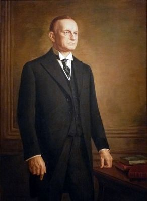 Calvin Coolidge image. Click for full size.