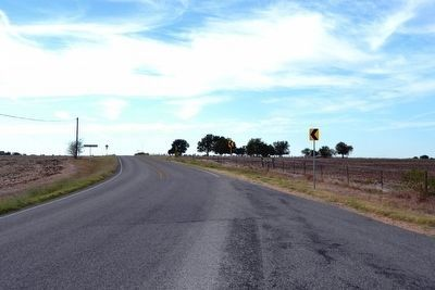 View to West Along Farm-to-Market Road 1123 image. Click for full size.
