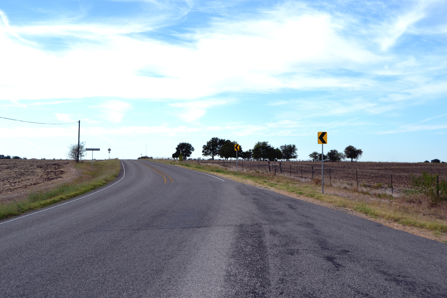 View to West Along Farm-to-Market Road 1123