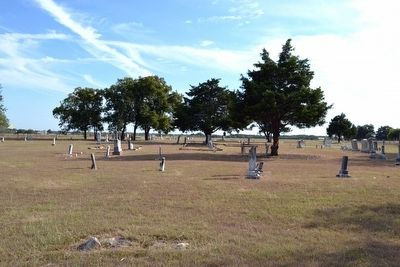 Post Oak Cemetery image. Click for full size.