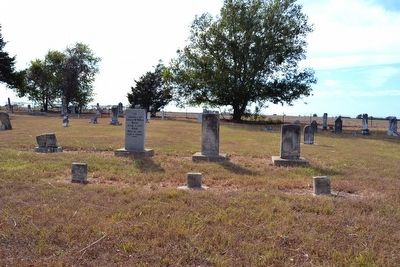 Graves of Isham, Elizabeth, and Mary McMillin image. Click for full size.