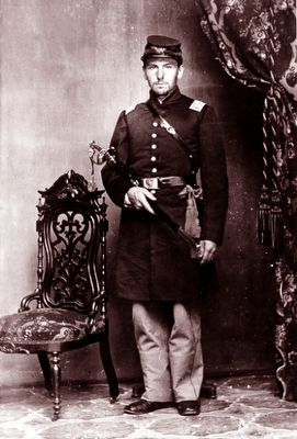 Capt. Hugh C. Irish (1832-1862) image. Click for full size.