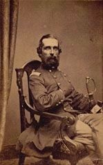 Lieut. Col. Mark W. Collet (d. 1863)<br>Commander, First New Jersey Infantry image. Click for full size.