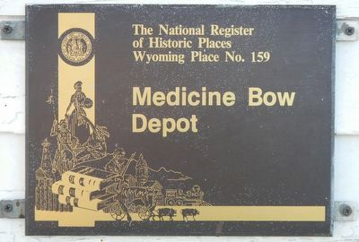 Medicine Bow Depot image. Click for full size.
