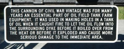 Civil War Cannons Marker image. Click for full size.